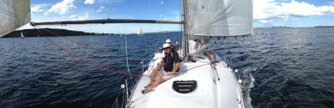 Last Summer sailing 2