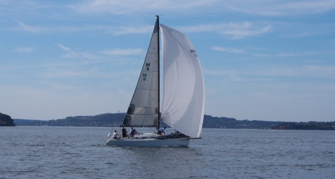 Race 1 of the Summer Pointscore - including sail past