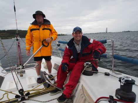 Sailing on Menace